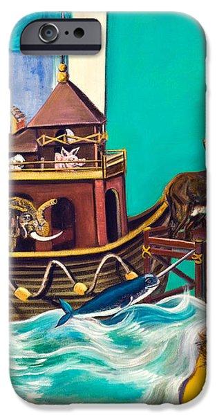 Noah's Ark Second Voyage iPhone Case by Susan Culver