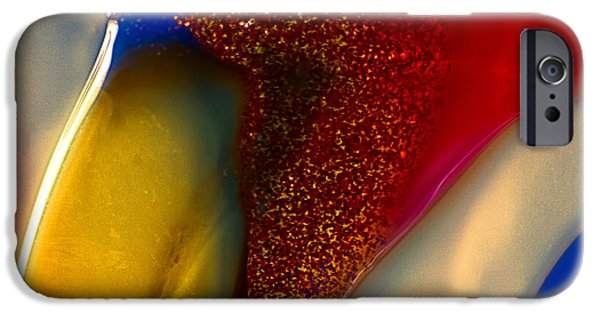 Fine Abstract Glass iPhone Cases - Noble Bird iPhone Case by Omaste Witkowski