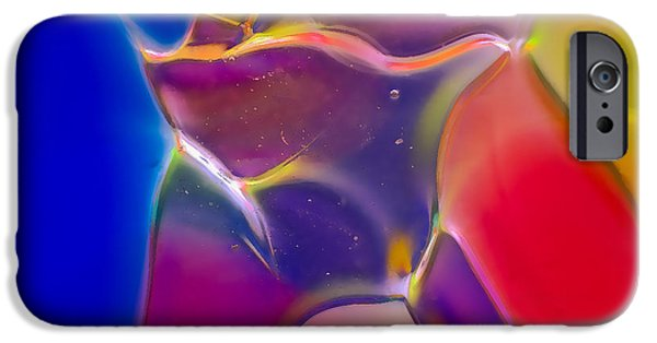 Close Glass iPhone Cases - Noble Colors iPhone Case by Omaste Witkowski