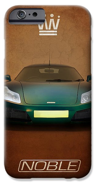 Noble iPhone Cases - Noble M15 iPhone Case by Mark Rogan
