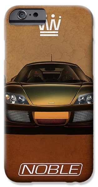 Noble iPhone Cases - Noble M600 iPhone Case by Mark Rogan
