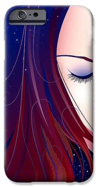 Nocturn II iPhone Case by Sandra Hoefer