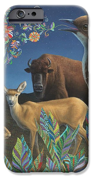 Nocturnal Cantata iPhone Case by James W Johnson