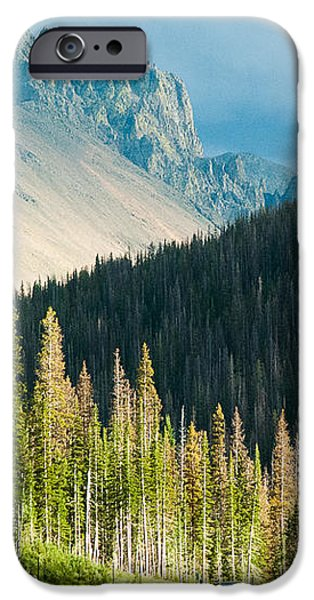 Nohku Crags Summer Storm Cameron Pass Rocky Mountains Northern Colorado iPhone Case by Robert Ford