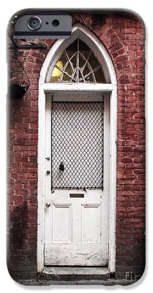 NOLA Door iPhone Case by John Rizzuto