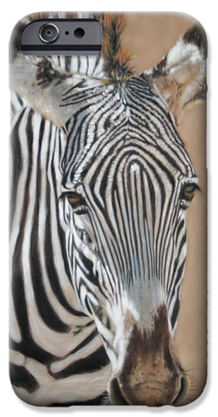 Children Pastels iPhone Cases - Nomad  iPhone Case by Carol McCarty