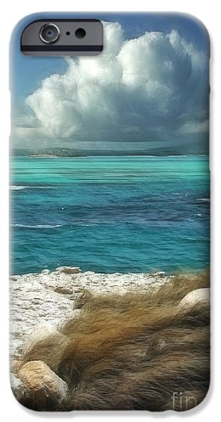 Sea iPhone Cases - Nonsuch Bay Antigua iPhone Case by John Edwards