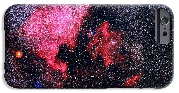 Stellar iPhone Cases - North America Nebula iPhone Case by Shigemi Numazawa / Atlas Photo Bank