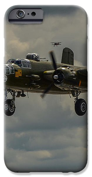 NORTH AMERICAN B-25J MITCHELL iPhone Case by Puget  Exposure