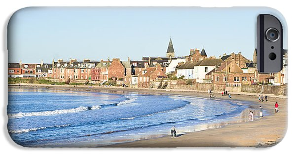 Attraction iPhone Cases - North Berwick iPhone Case by Tom Gowanlock