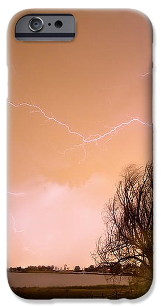 North Boulder County Colorado Lightning Strike iPhone Case by James BO  Insogna