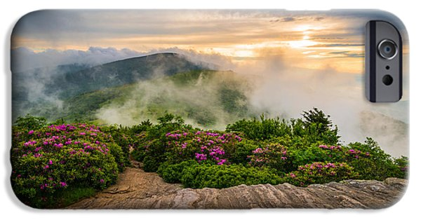 Epic iPhone Cases - North Carolina Appalachian Blue Ridge Mountains iPhone Case by Dave Allen