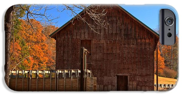Grist Mill iPhone Cases - North Carolina Grist Mill - McKinney -  iPhone Case by Adam Jewell