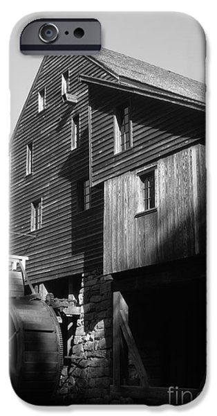 Grist Mill iPhone Cases - North Carolina mill iPhone Case by Dwight Cook