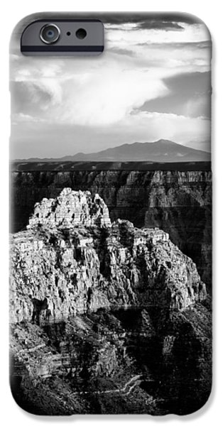 Nation Photographs iPhone Cases - North Rim iPhone Case by Dave Bowman