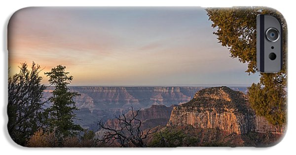 Grand Canyon iPhone Cases - North Rim Sunrise 1 - Grand Canyon National Park - Arizona iPhone Case by Brian Harig