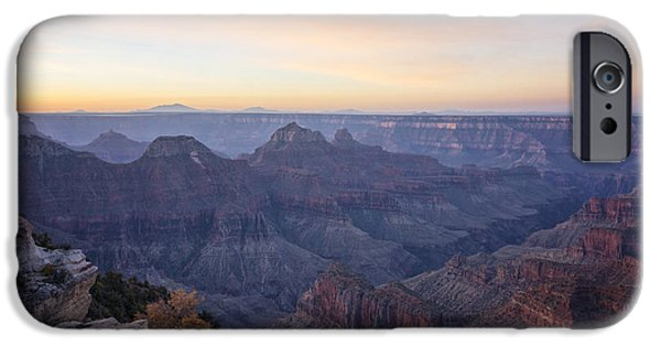 Grand Canyon iPhone Cases - North Rim Sunrise 2 - Grand Canyon National Park - Arizona iPhone Case by Brian Harig
