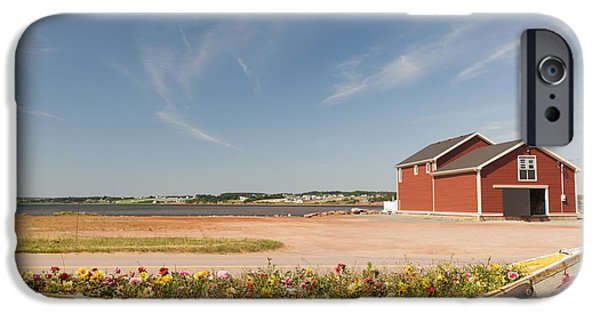 Village iPhone Cases - North Rustico PEI iPhone Case by Elena Elisseeva