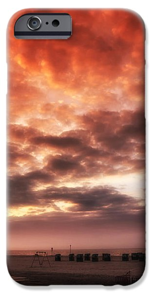 North Sea Sunset iPhone Case by Mountain Dreams