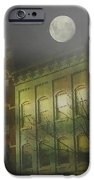 Fog Mist iPhone Cases - Northampton by Moonlight iPhone Case by RC deWinter