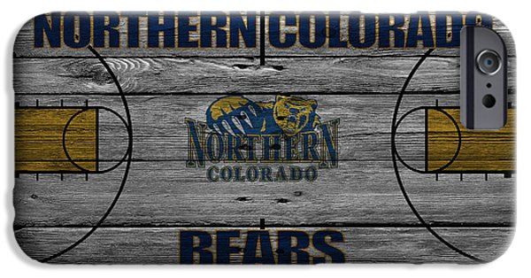 Northern Colorado iPhone Cases - Northern Colorado Bears iPhone Case by Joe Hamilton