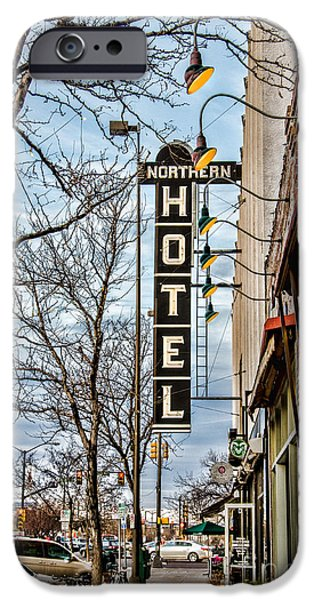 Northern Hotel iPhone Case by Baywest Imaging