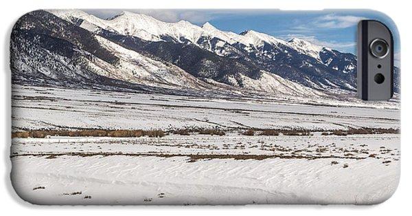 Northern Colorado iPhone Cases - Northern Sangre De Cristo iPhone Case by Aaron Spong