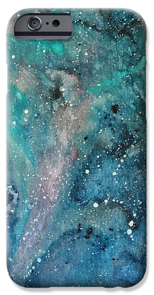 Mounds iPhone Cases - Northern Skies - right side iPhone Case by Pamela Taylor
