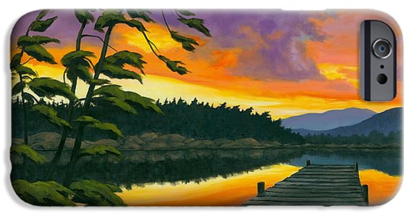 Michael Swanson iPhone Cases - Northern Solitude - SOLD iPhone Case by Michael Swanson