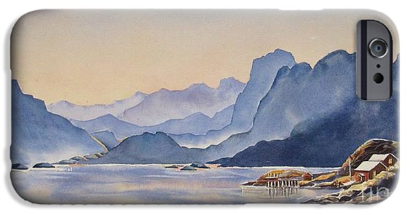 Recently Sold -  - Norway iPhone Cases - Northern_Norway iPhone Case by Nancy Newman