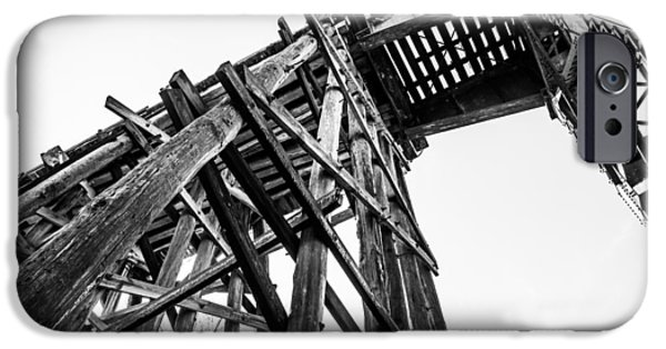 Tuscaloosa iPhone Cases - Northport Trestle iPhone Case by Parker Cunningham