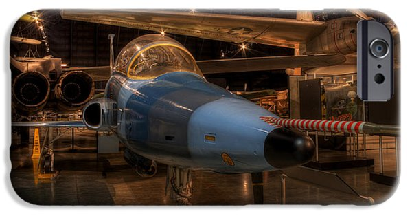 Freedom iPhone Cases - Northrop F-5 iPhone Case by David Dufresne