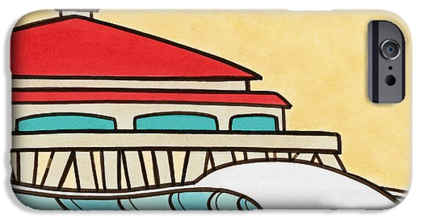 Socal Mixed Media iPhone Cases - Northside iPhone Case by Joe Vickers