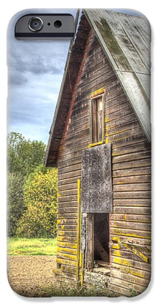Northwest Barn iPhone Case by Jean Noren