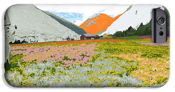 Norway iPhone Cases - Norway Landscape. iPhone Case by Augusta Stylianou