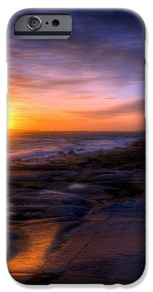 Norwegian Sunset iPhone Case by Bruce Nutting