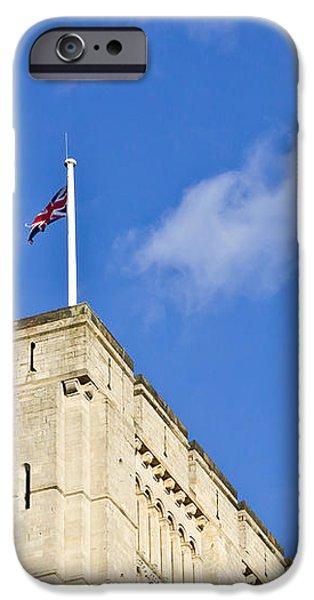 Norwich Castle iPhone Case by Tom Gowanlock
