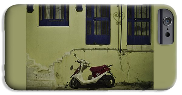 Scoot iPhone Cases - Nostalgic iPhone Case by Ivan Slosar