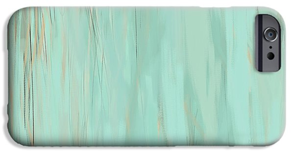 Beige Abstract iPhone Cases - Nostalgic Nature iPhone Case by Lourry Legarde