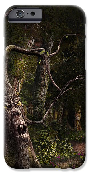 Master Potter iPhone Cases - Nothern Oz #45 iPhone Case by Vjkelly Artwork