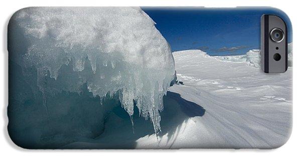 Sandra Updyke iPhone Cases - Nothing but ice iPhone Case by Sandra Updyke