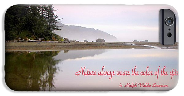 Business Photographs iPhone Cases - Nothing Like An Early Morning On the Oregon Coast  iPhone Case by Joyce Dickens