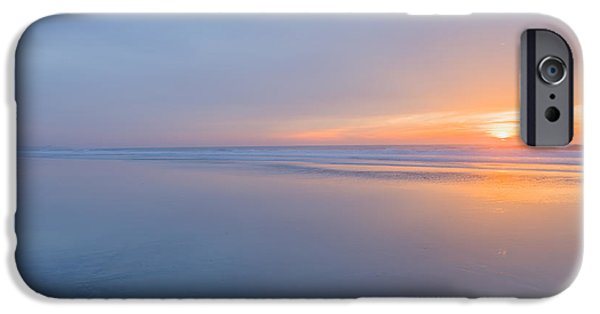 Beach Landscape iPhone Cases - Nothing iPhone Case by Peter Tellone