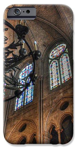 Notre Dame Interior iPhone Case by Jennifer Lyon