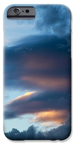 Freedom iPhone Cases - November Clouds 001 iPhone Case by Agustin Uzarraga