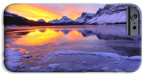 iPhone Cases - November Freeze 2 iPhone Case by Dan Jurak