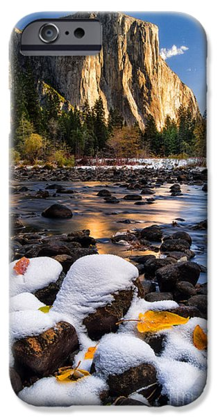 Winter iPhone Cases - November Morning iPhone Case by Anthony Bonafede