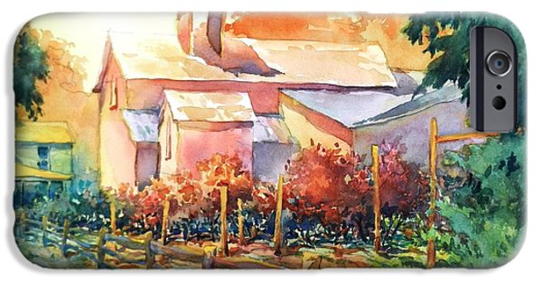Village iPhone Cases - Now Its A Winery No 1 iPhone Case by Virgil Carter