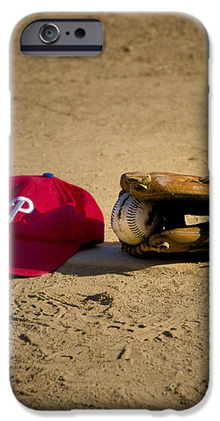 Now Pitching for the Phillies iPhone Case by Bill Cannon