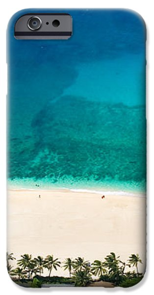 Nth shore overviews 0.8.19.05 iPhone Case by Sean Davey